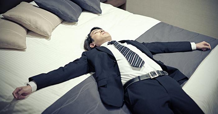 仕事,寝る,睡眠